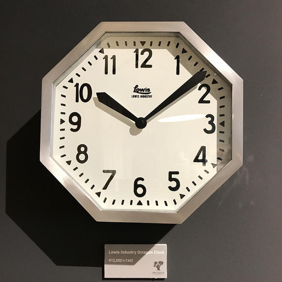 Lowis Industry Octagon Clock