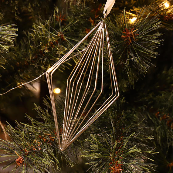 Wire Ornament Rhombus