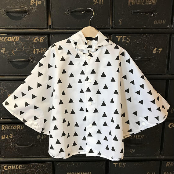 GEOMETRY RAINPONCHO - TRIANGLE