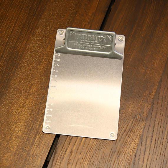 Metal clip board - A6 Galvanized