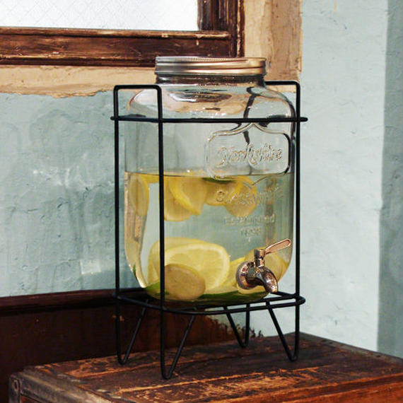 Yorkshire Mason Jar Drink Dispenser