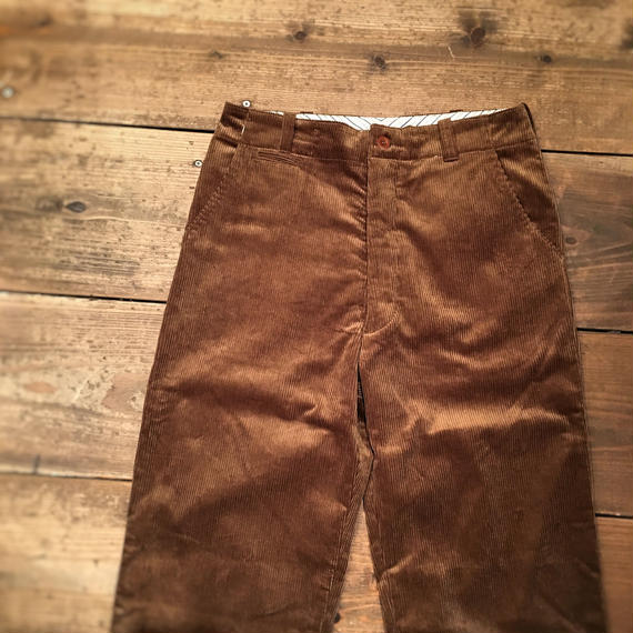 Dapper's(ダッパーズ) / Classical Standard Trousers / BROWN Corduroy