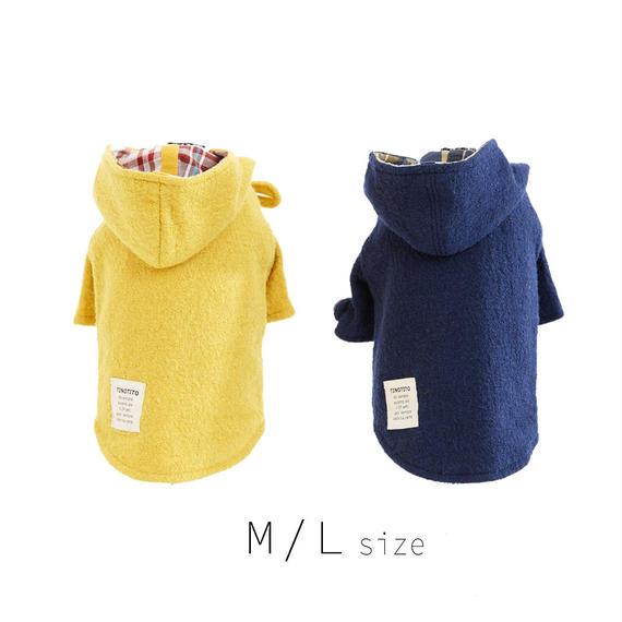 M-L  ダッフルコート(Yellow / Navy) TT102021-2