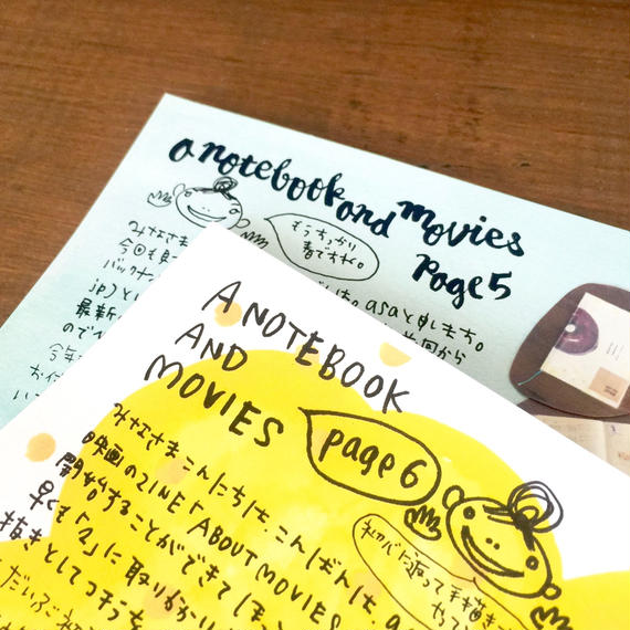A NOTEBOOK & MOVIES 5+6