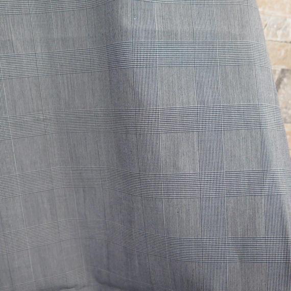 スーピマ綿80/2先染めグレンチェック【SPM-8094-YD】50cm
