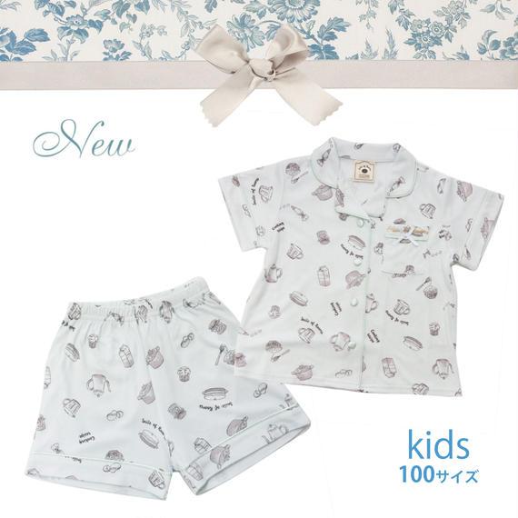 KIDS【クッキングレシピ上下セット100cm】P91540-532