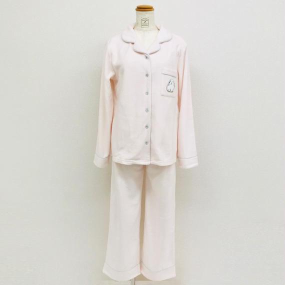 リボン付き【ラビット刺繍シャツ上下セット】P91558-783