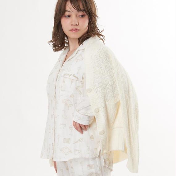 【ホイップモールクロシェカーディガン】P91386-742