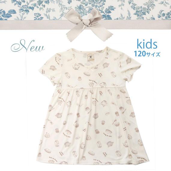 KIDS【クッキングレシピワンピース120cm】P91526-532