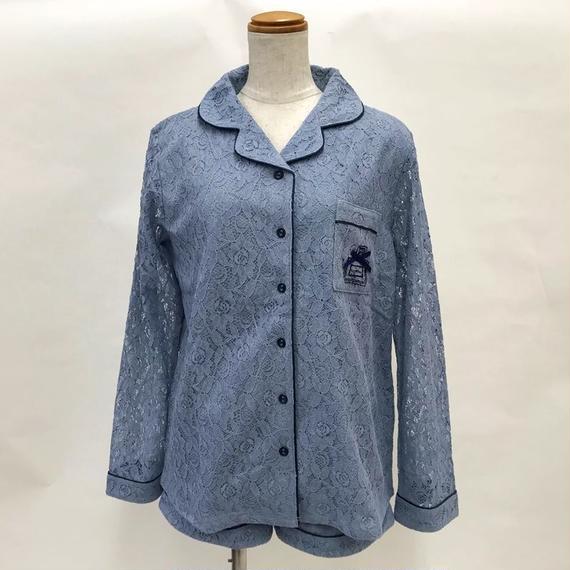 【レースシャツ上下セット】P91521-782