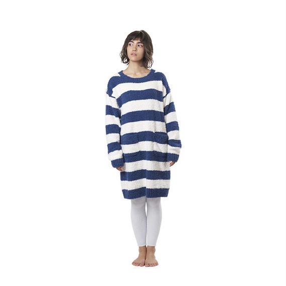 【ラビットボア ボーダーワンピース】P91449-754