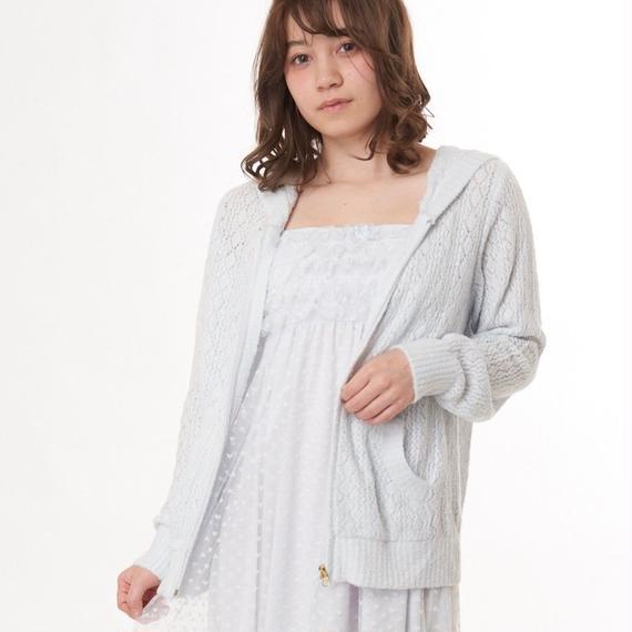 【ホイップモールクロシェパーカー】P91387-742