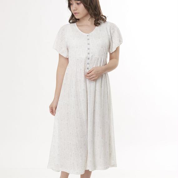 【スイートケアシャツ 前開きワンピース】P91510-742