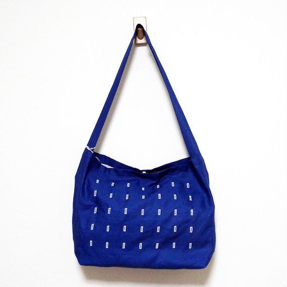 Join up Shoulder bag (blue)