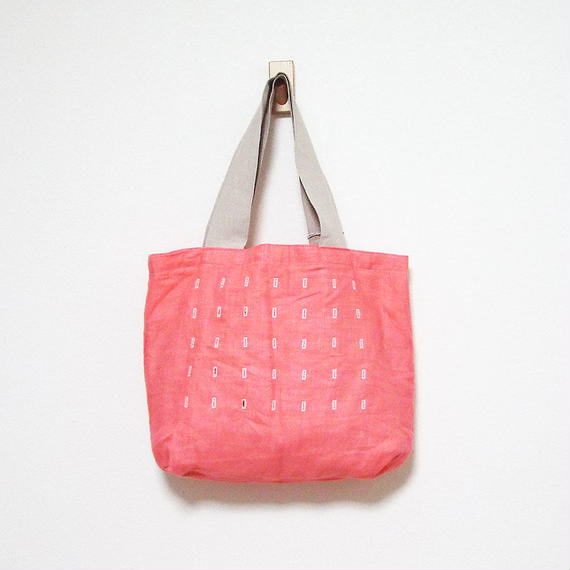 Join up tote bag(red)