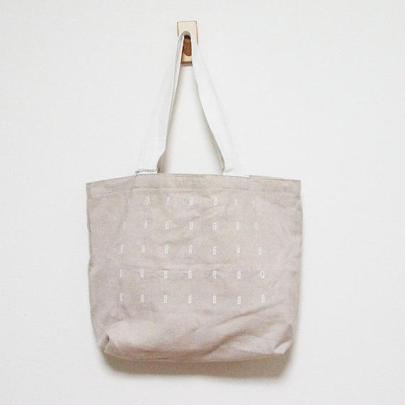 Join up tote bag (beige)