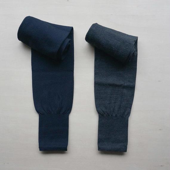 10分丈裾絞りレギンス/wool