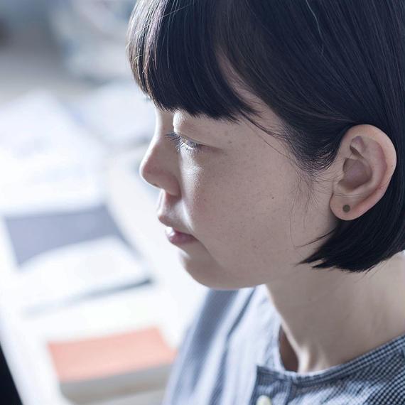 kao・pierced earrings /Oy