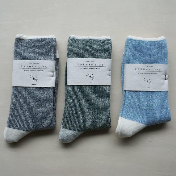 TAURUS 25-27 牡牛座の靴下/wool