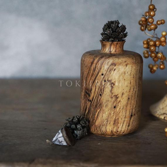 RetRe 虫喰いの花器 筒
