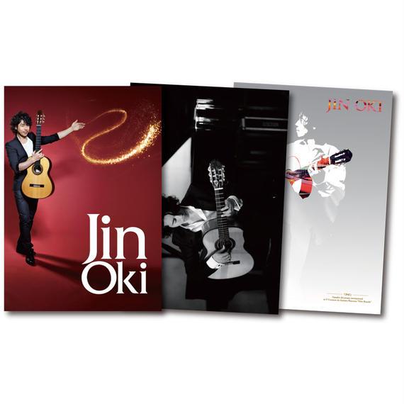 """沖仁""""JIN OKI クリアファイルセット""""(Aタイプ)"""