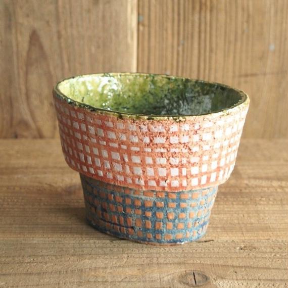 阿部 誠 台付き小鉢