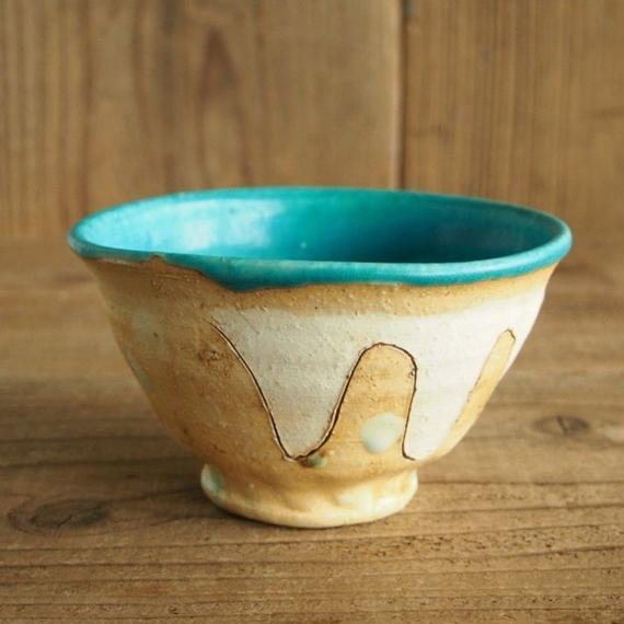小泊 良 水色の碗