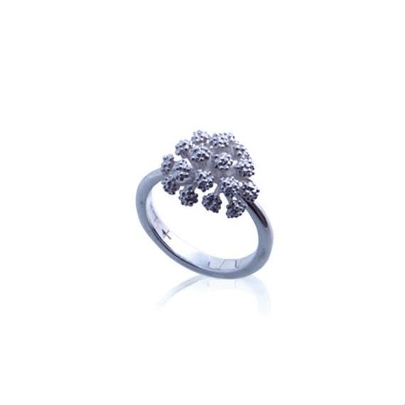 Botanical Jewelry   - Small Flower Ring 3 -  【SFR3】