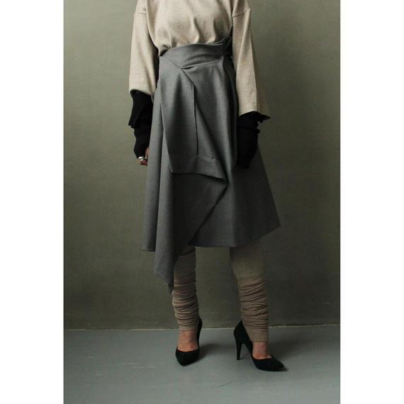 Wool Design Skirt (bt198)