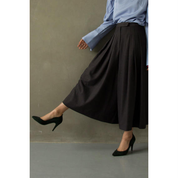 Tucked Super Wide Pants (bt164)