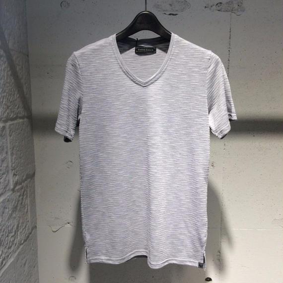 【Custom Culture】ランダムリップルTシャツ グレー