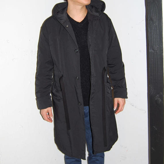 【N.MASAKI COLORS】BJ高密度クロス コート ブラック
