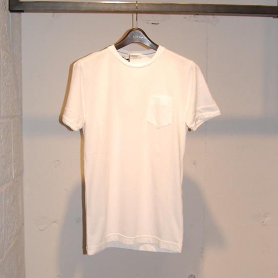 【CROSSLEY】無地クルーネック半袖Tシャツ ホワイト