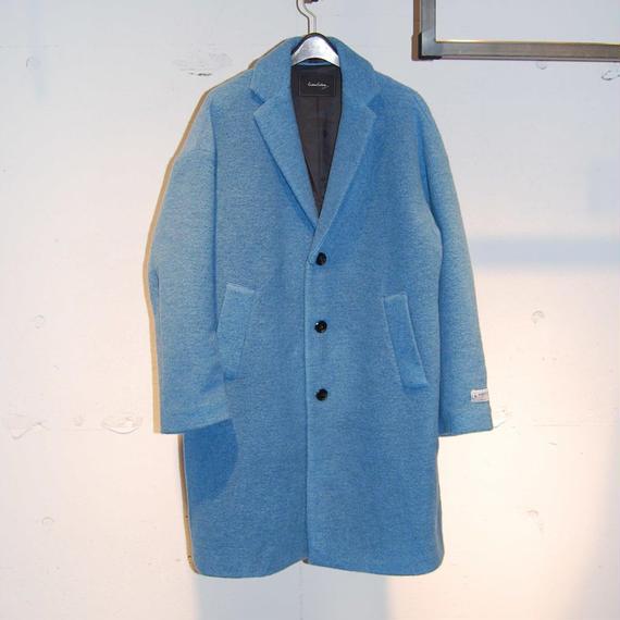 【Custom Culture】スライバーチェスターコート ブルー