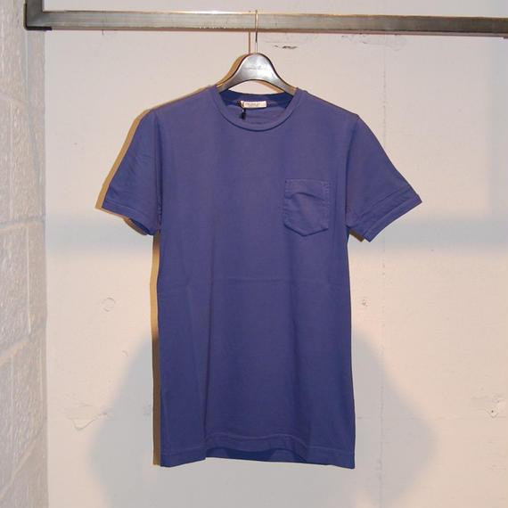 【CROSSLEY】無地クルーネック半袖Tシャツ ブルー
