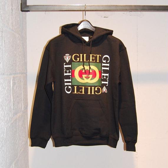 【GILET】パーカー ブラック