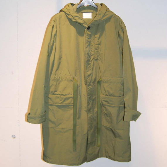 【N.MASAKI COLORS】BJ高密度クロス コート カーキ