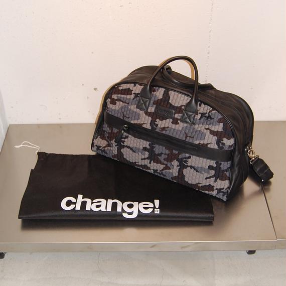 【Change!】ボストンバッグ グレー系