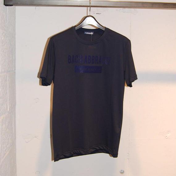 【BACI&ABBRACCI】フロントロゴTシャツ ネイビー