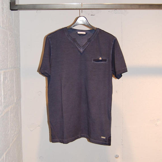 【SSEINSE】VネックTシャツ ネイビー
