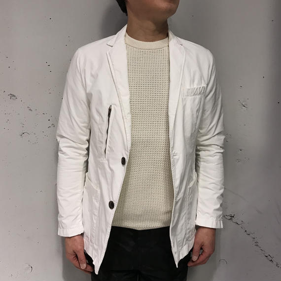 【N.MASAKI COLORS×PAZZO】テーラードジャケット ホワイト
