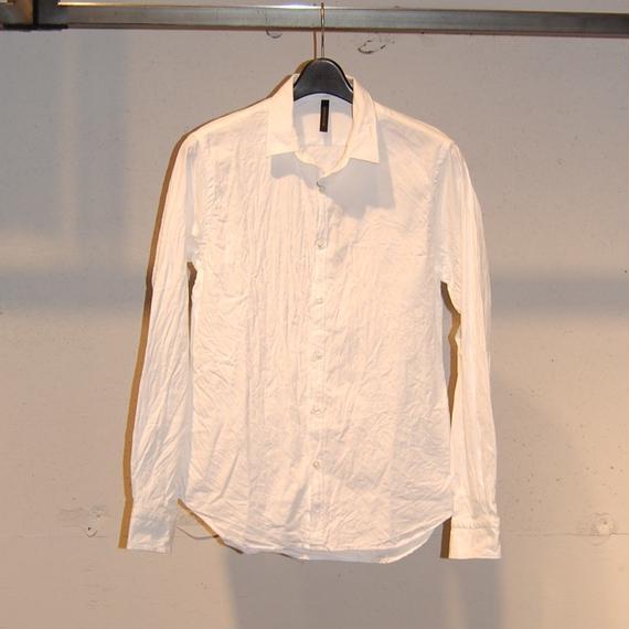 【Custom Culture】ジャガードシャツ リーフ柄