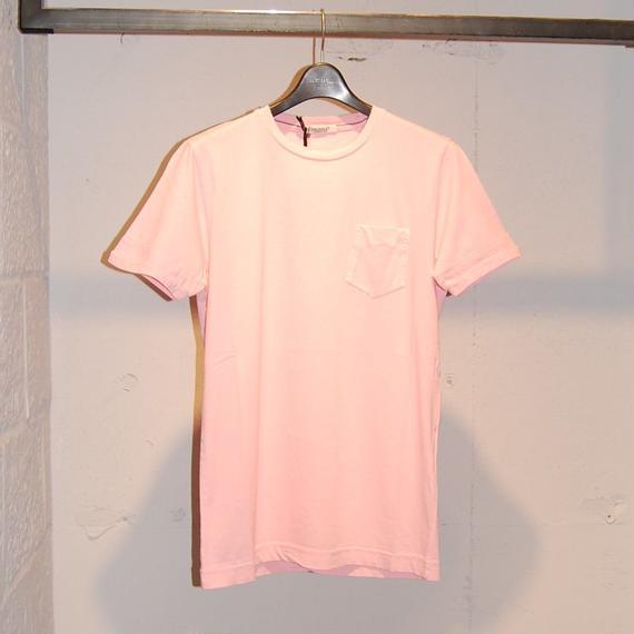 【CROSSLEY】無地クルーネック半袖Tシャツ ピンク