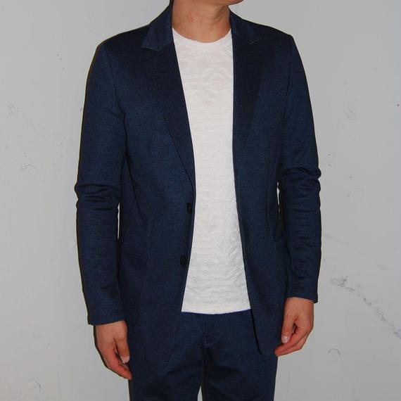 【Custom Culture】ツイルプリントカットジャケット インディゴ
