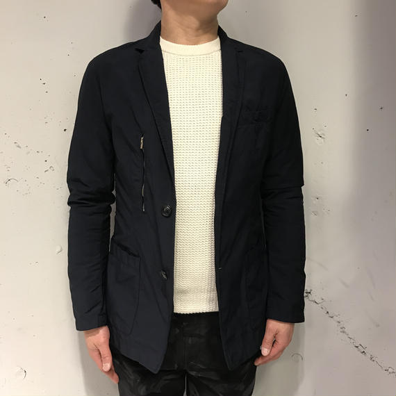 【N.MASAKI COLORS×PAZZO】テーラードジャケット ネイビー
