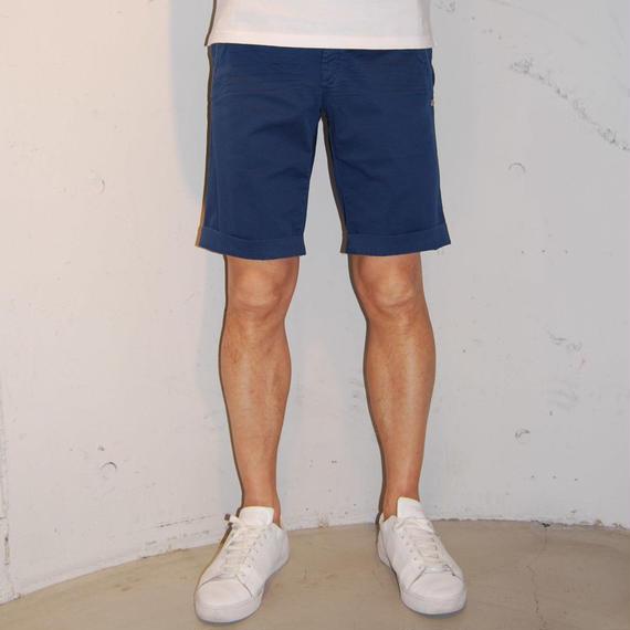 【MASON'S】総柄ショートパンツ ブルー