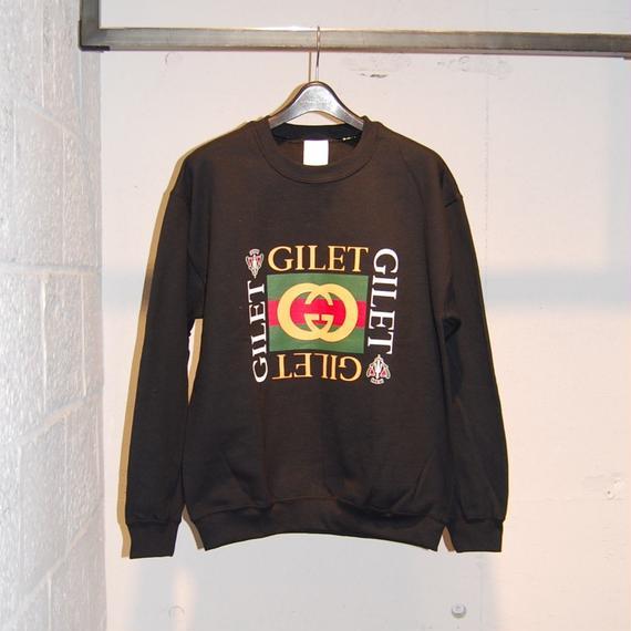 【GILET】トレーナー ブラック
