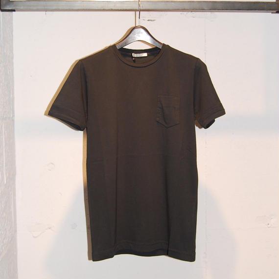【CROSSLEY】無地クルーネック半袖Tシャツ ブラック