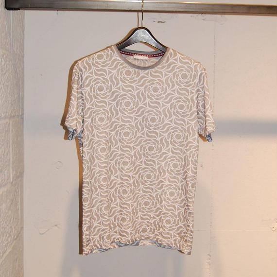 【SSEINSE】フラワー総柄Tシャツ グレー