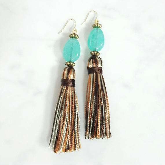 【再販】14kgf Nature Blue Tassel